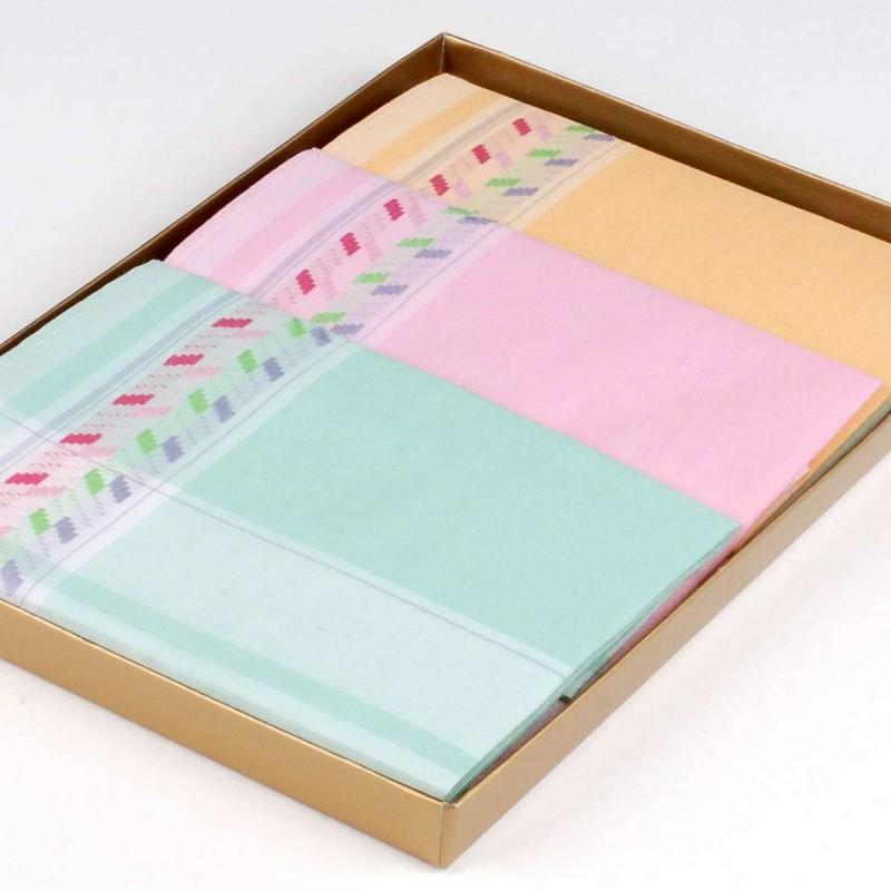mouchoir-hanna-corina-femme-100%coton-30cm