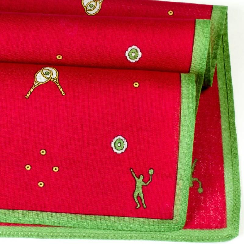 mouchoir tennis davis merrysquare n 1 des mouchoirs en. Black Bedroom Furniture Sets. Home Design Ideas