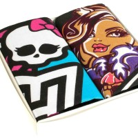 "Mouchoirs enfant ""Monster High"" (x2)"