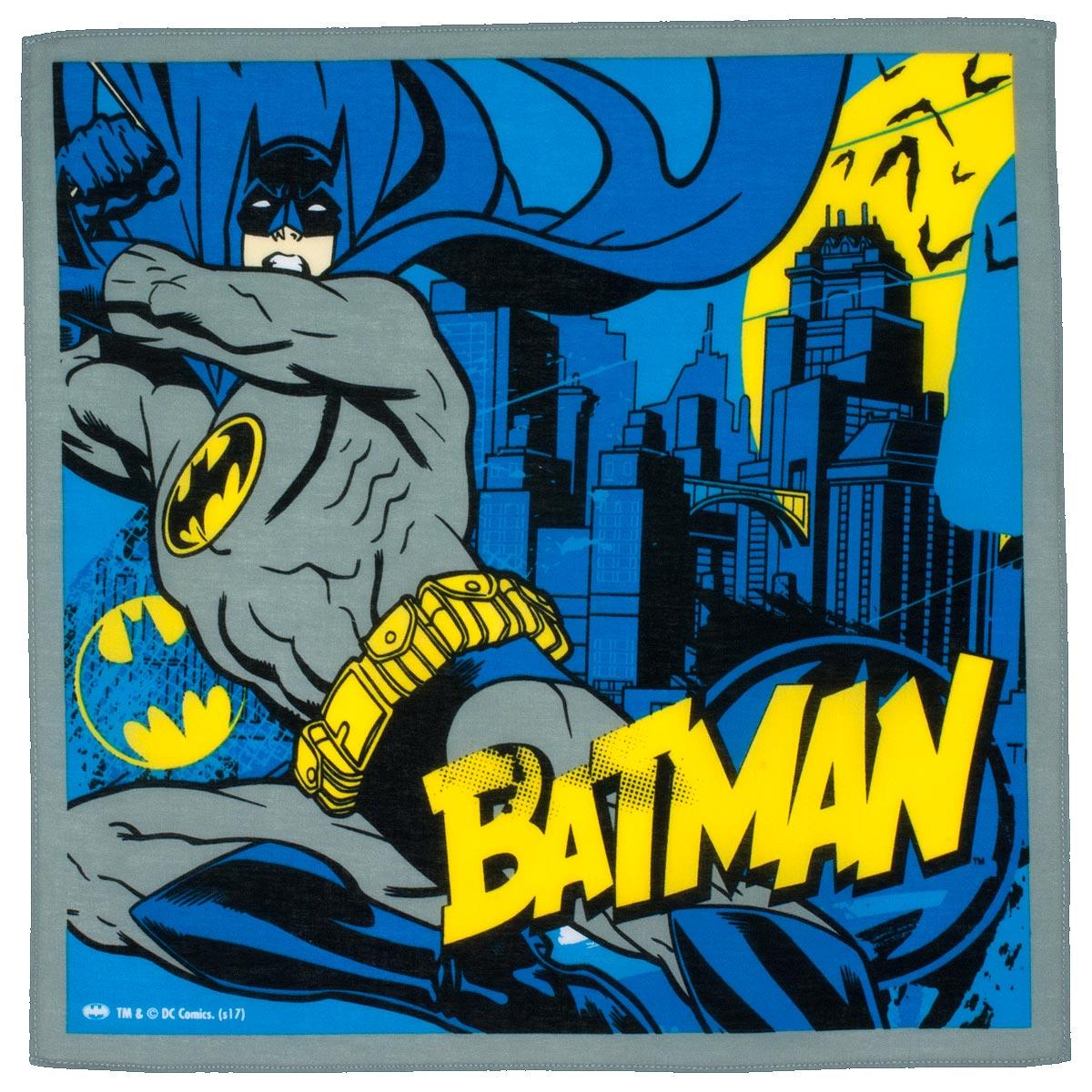 """Mouchoirs enfant """"Batman"""" (x3)"""