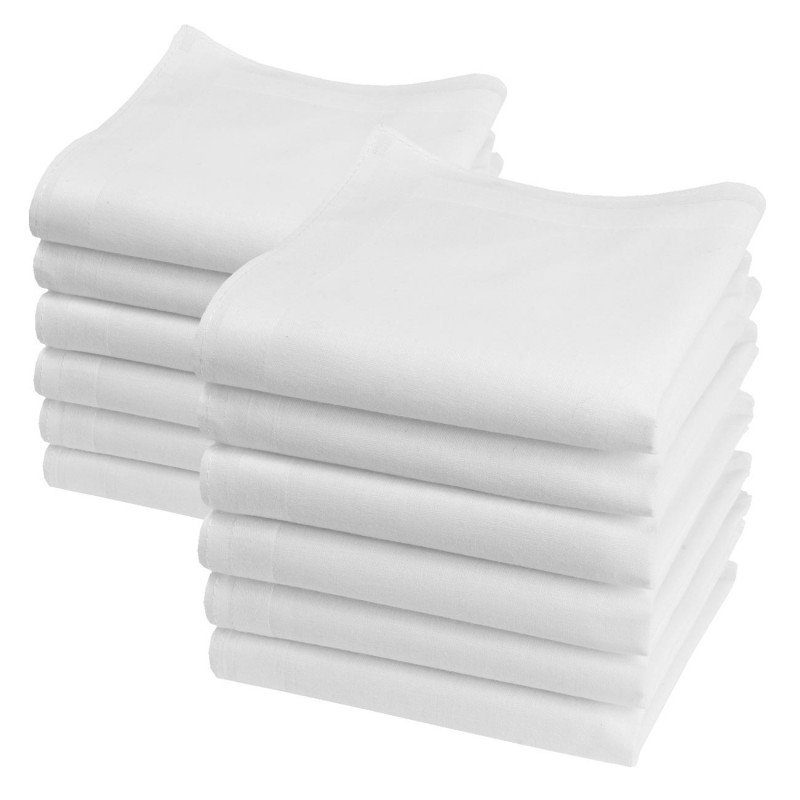 """Mouchoirs blancs """"Lilliput"""""""