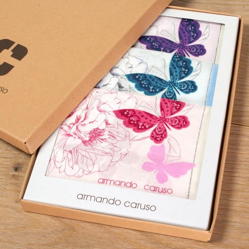 "Mouchoirs chaleureux ""Butterfly"" (x3)"